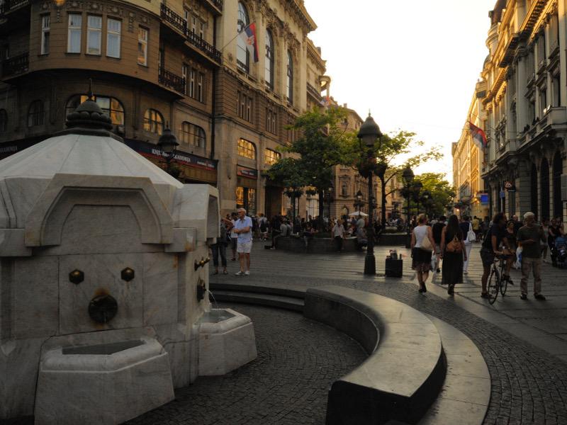 Immagine del centro storico di Belgrado