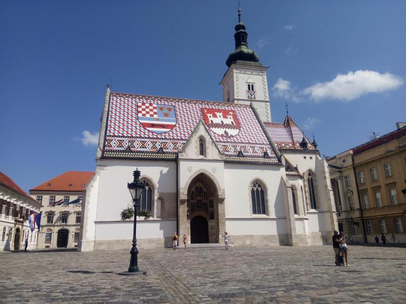 Immagine della chiesa di San Marco a Zagabria