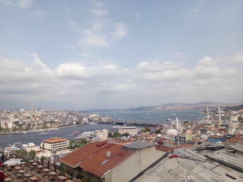 Immagine di Istanbul e del suo canale mare