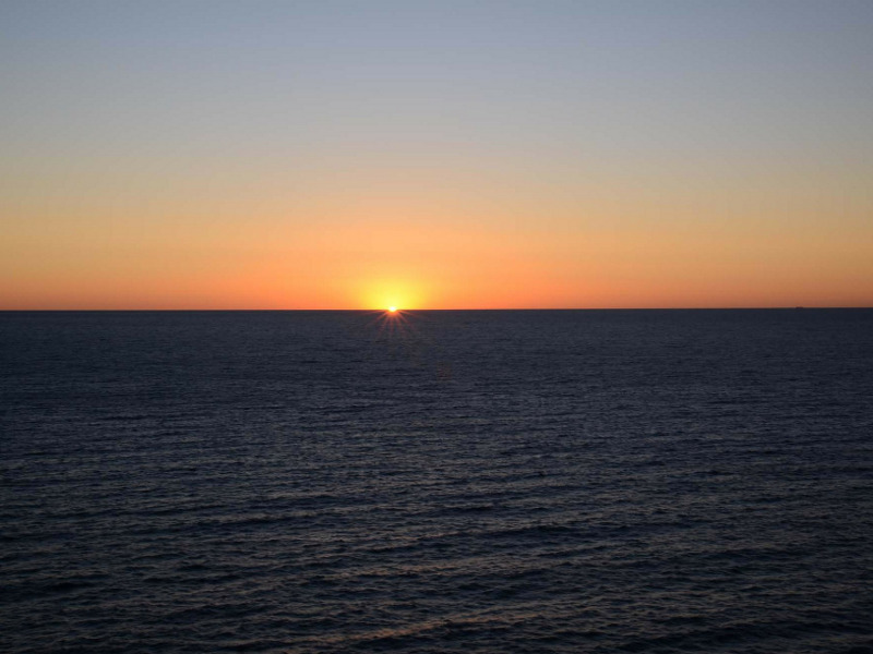 Immagine dell'Oceano Atlantico nel racconto di Liberi di Andare