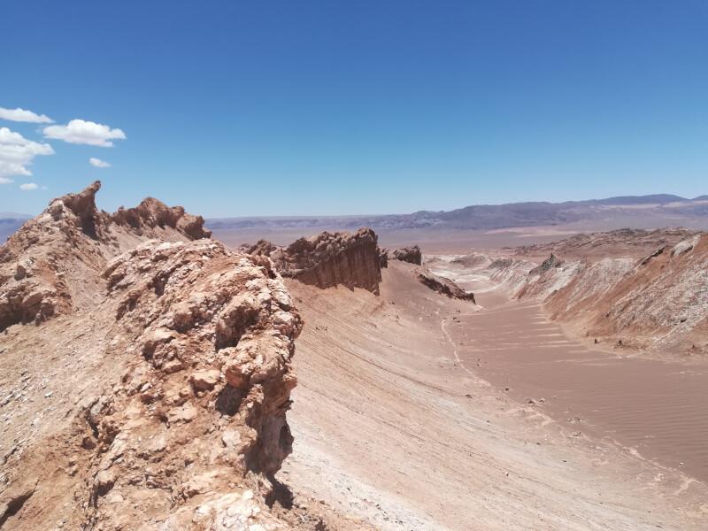 Immagine del deserto dell'Atacama